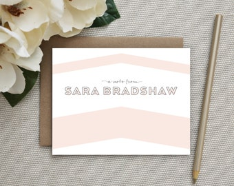 Personalized Stationery. Personalized Notecard Set. Personalized Stationary. Personalized Thank You Notes. Note Cards. Notecards. Hip Arrow.