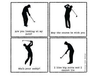 Golfers Card - Golfing Puns