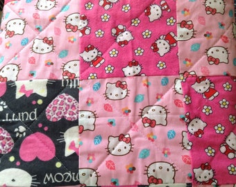 Hello Kitty Quilt Mixed Prints