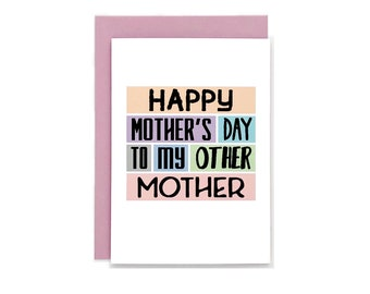 Mothers Day Card | Stepmum | Stepmother | For Mother-in-Law | Adopted Mum | Mother Figure | For Foster Mother | Stepmom | Blank | SEM0002A6