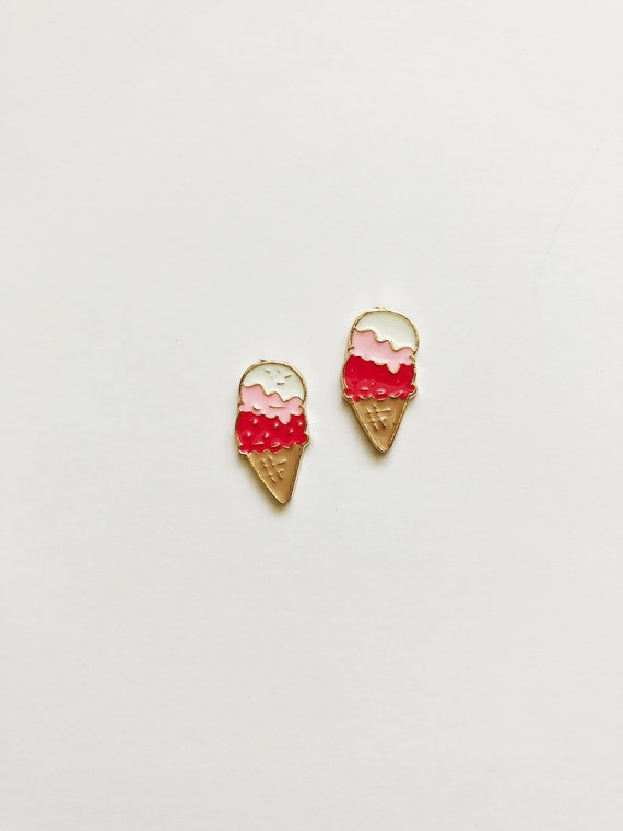 Ice Cream Post Earrings
