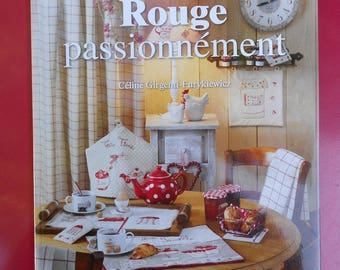 """Book """"Red"""" passionately by editions de Saxe"""