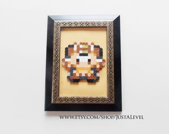Meowth (Pokemon) Framed Decorative Sprite Art *Clearance*