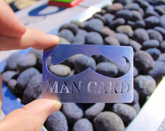 Stainless Steel Man Card bottle opener