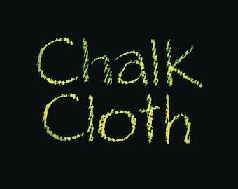Black Chalk Cloth OilCloth-Full Bolt 18Yards