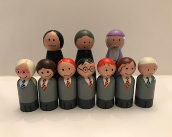 Harry Potter Peg Dolls