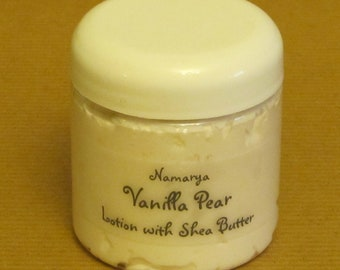 Vanilla Pear Lotion with Shea Butter