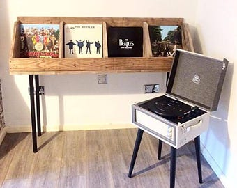 Vinyl Record Storage, Record Stand, Record Holder, Book Stand, Book Holder,