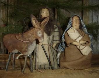 True Christmas Nativity Set