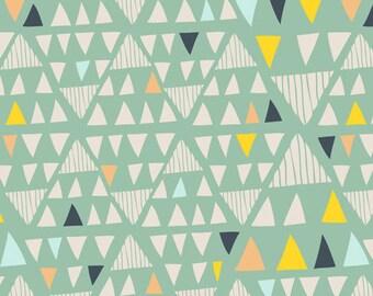 Art Gallery Fabrics- Mojave Aloe - Morning Walk by Leah Duncan