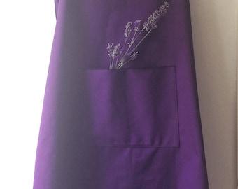 Cross back Cotton Canvas apron