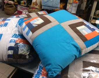 Large Patchwork Cushions
