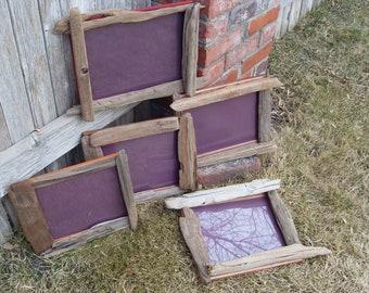 Driftwood wall frame
