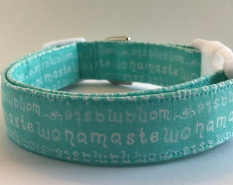 Namaste Dog Collar Size XS, S, M or L