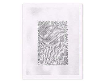 Untitled (#1) - Risograph Print
