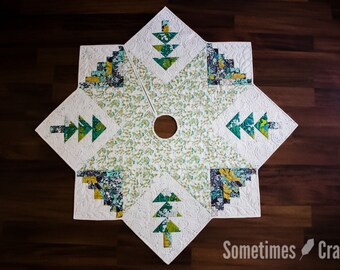 Quilted Christmas Tree Skirt PDF