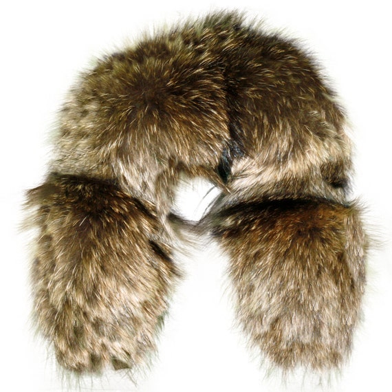 Glacier Wear Alaskan Style Coyote Fur Ruff 30 Inches cty105