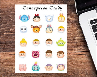 Disney tsum tsum sticker (20)