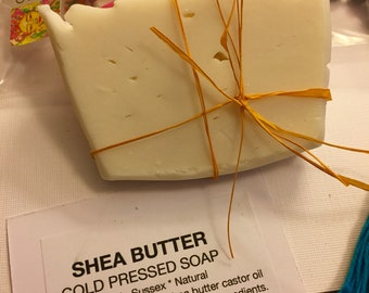 Shea butter cold pressed soap - 2 x 100grams