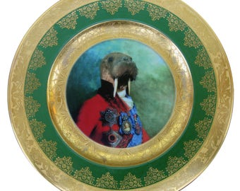 Portrait de Sir Odobenus Rosmarus plaque 11»