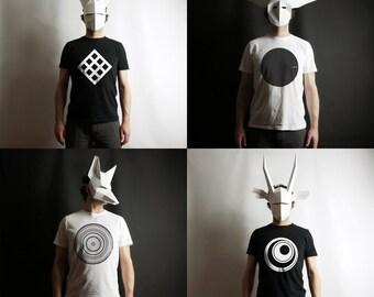 Genus Mysterious Set - Jackal, Oryx, Owl, White Rabbit