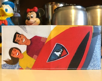 The Matterhorn Disneyland Map Wallet