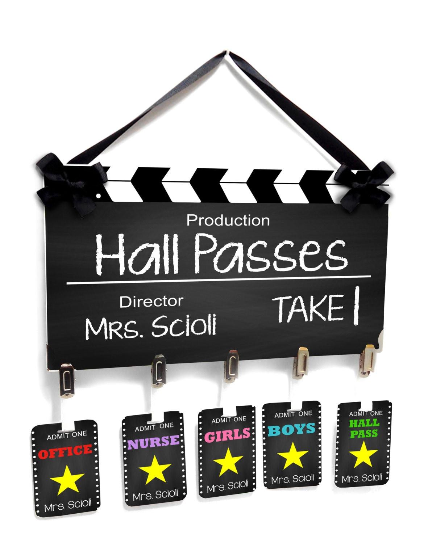 hall pass templates for teachers