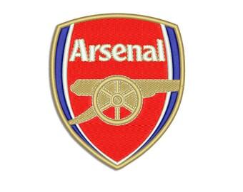Arsenal - Machine embroidery design