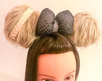 Chewbacca Star Wars Inspired Ears - Faux Fur