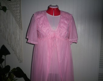 Pink Perfection Negligee