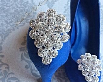 Sale Shoe clips, wedding shoe clips, shoe clip ons, shoe clips bridal, wedding flower shoe clips, bridal shoe clips, pearl shoe clips, acces