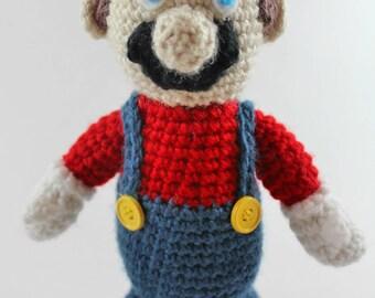 Crochet Amigurumi Super Mario
