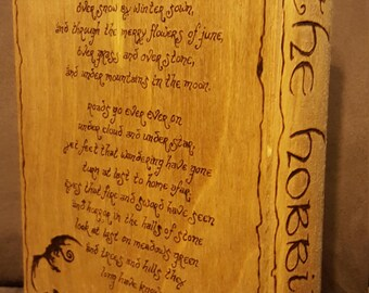 Livre bois boîte-The Hobbit