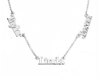 Personalized Multiple Names Necklace