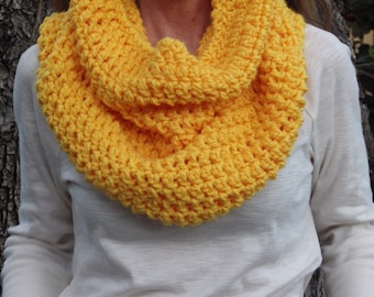Spring Yellow Hooded Scarf/ Stole #accessory, #yellowcowl, #Easter, #hoodedcowl
