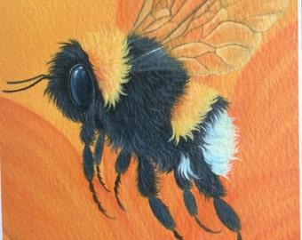 bumblebee painting bee