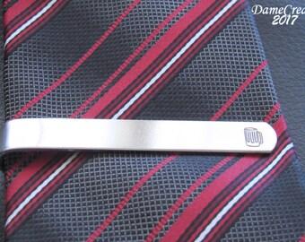 Personalized Tie Clip from Groomsmen, Beer Tie Clip, Tie Clip Father of the Bride, Tie Bar Groomsman