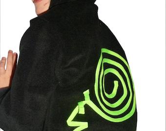 Made in France SNAIL FLUODELIK Fleece Sweatshirt