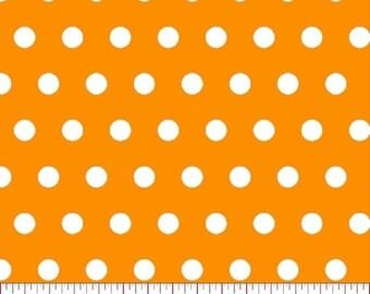 Tiny Dot --- Gold Polka Dot Fabric -----100 Percent Cotton --- Fabric By The Yard