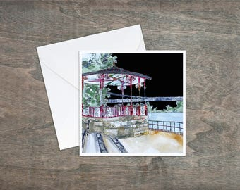 Chester Bandstand - Art Card