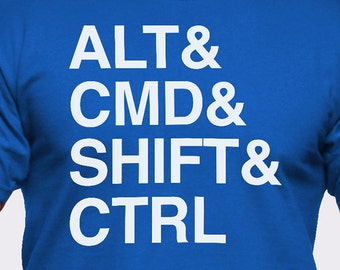 Alt Cmd Shift and Ctrl T-Shirt