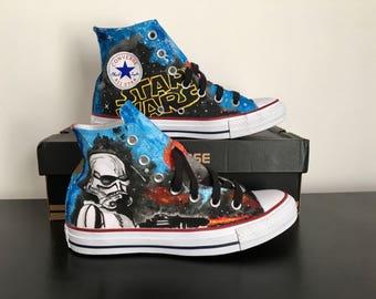 Converse custom star wars theme
