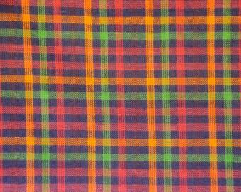 Homespun Material | Rag Quilt Material | Apparel Material | Cotton Sewing Material | Woven Homespun Material | Home Decor Material