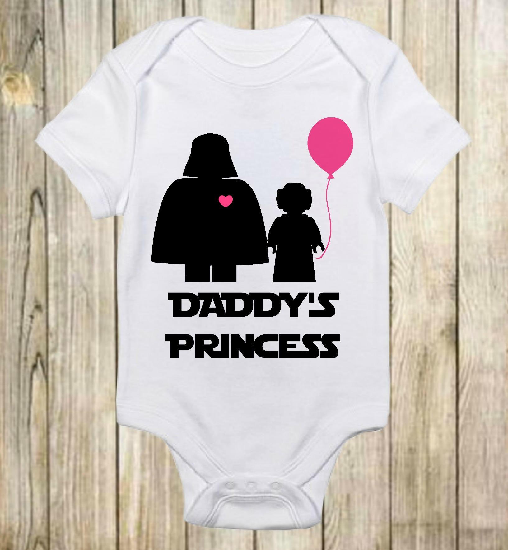 Daddy S Princess Star Wars Onesie 174 Darth Vader Daddy S