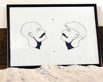 Gentlemen Print