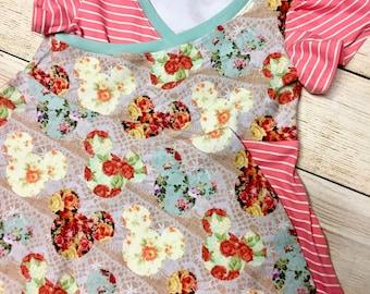 Lace Mouse Nori Wrap Dress