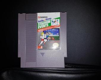 Original Stadium Events NES Game (Authentic) [Most Precious Game in the World]