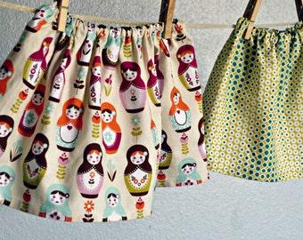 Skirt - Easter Matryoshka Russian Dolls Spring baby girl toddler skirt outfit first birthday baby shower gift photoshoot
