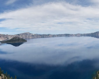 Crater Lake Photo Art #21