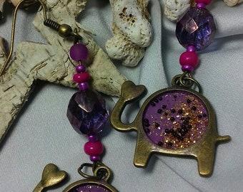 Earrings dangle fancy. Free shipping